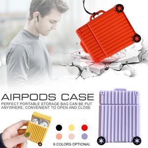 Image 5 - حار شعبية حقيبة شكل غطاء من السيليكون لأبل Airpods بلوتوث سماعة الملحقات ل Airpod سماعة الغطاء الواقي