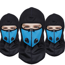1 шт. зимние велосипедные шапки теплые ветрозащитные Лыжные маски впитывающие пот дышащие велосипедные мотоциклетные локомотив теплый капюшон