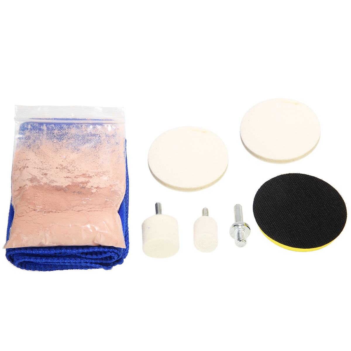 Mayitr 1 Set Car Windscreen Window Scratch Repair Remover Glass Polishing Kit Cleaning Kits Universal in Polishing Grinding Materials Set from Automobiles Motorcycles