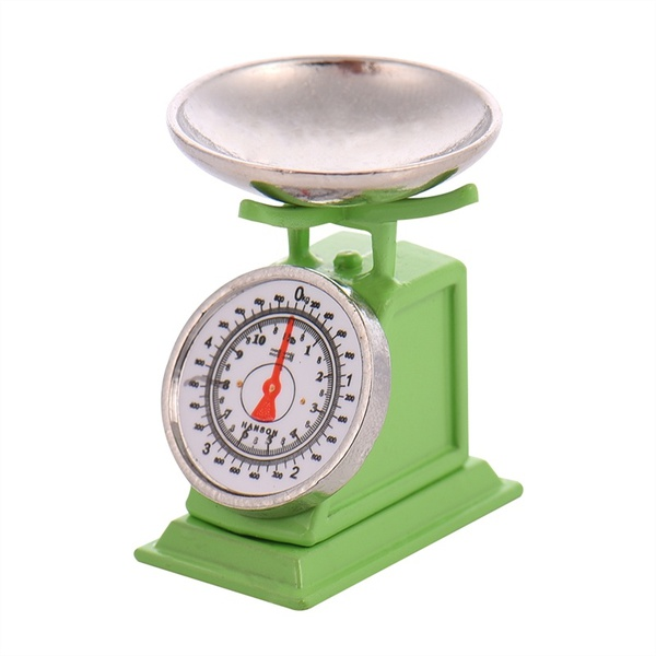 Mini Life Situations Accessories Scale Simulation Model Scene Accessories Emulational Model Kitchen Scale For Doll House Decor