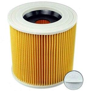 Image 3 - Sanq Voor Karcher Nat & Droog Wd2 Stofzuiger Filter En 10x Stofzakken