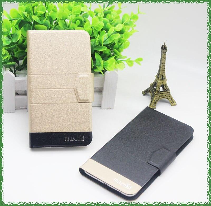 Offre spéciale! Echo Stellar 4G étui de luxe Flip mode Ultra-mince en cuir téléphone housse de protection avec porte-carte