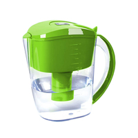 Best quality antioxidant hydrogen rich alkaline water filter pitcher with 6 stages filtration system ionizing filter cartridge