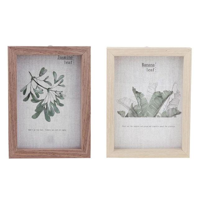 Double Sided Traditional Photo Frame DIY Picture Poster Wall Hanging Frames