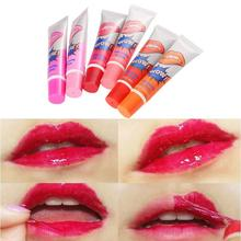6 Color Tear Lip Gloss Tear-off Lip Gloss Lipstick Waterproof Not Fade Beauty Make Up Lipstick Matte amazing capped portable retractable smooth lipstick gloss lip brush make up gift random color