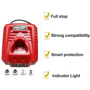 Image 4 - 3.0A 10.8V 12V Li Ion Vervanging Batterij Lader Voor M12 Milwaukee N12 48 59 2401 48  11 2402 Lithium Ion Batterij Eu Plug