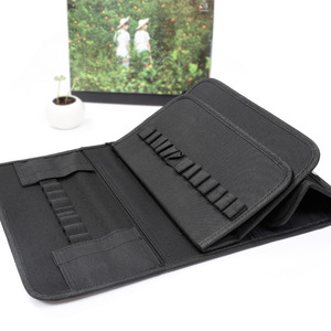 Image 5 - PPYY NEW 80 sloty o dużej pojemności składane marker Case pisaki artystyczne przechowywanie torba do przenoszenia trwałe narzędzia do szkicowania organizator