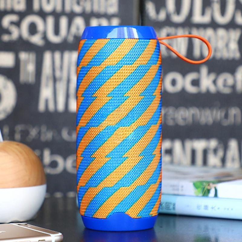 Image 5 - Wireless Bluetooth Speaker  Waterproof column Stereo Subwoofer loudspeaker portable Speaker+Mic Bass FM Radio MP3 Sound Box-in Portable Speakers from Consumer Electronics