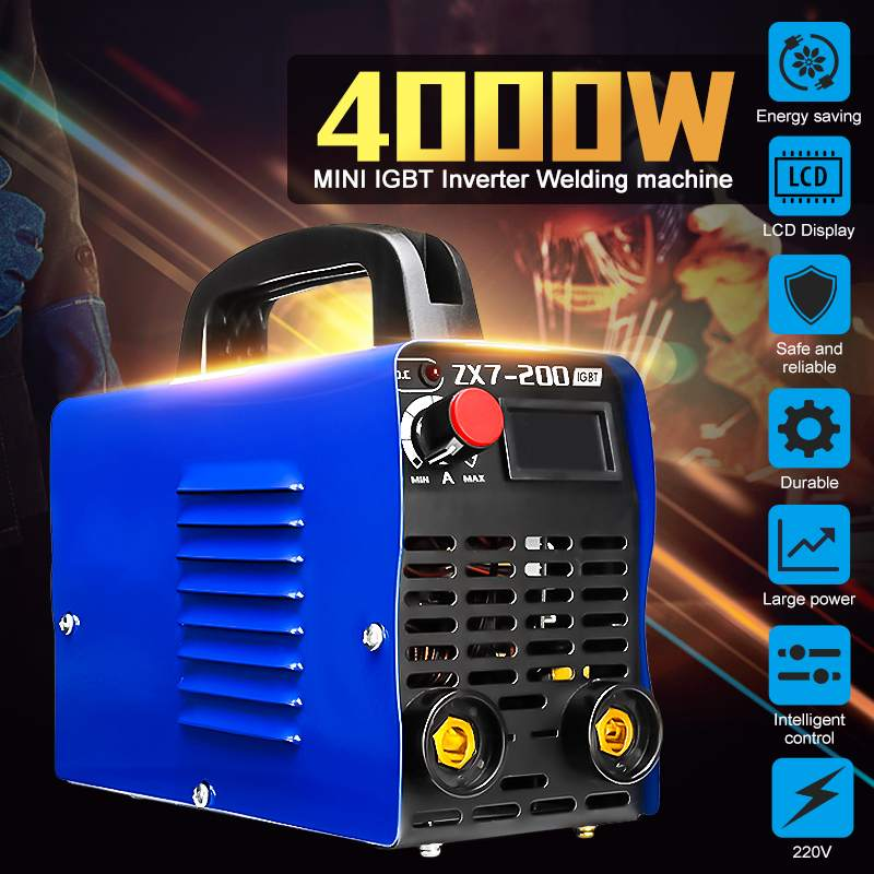 Handheld Mini MMA Electric Welder 220V 10-200A Inverter ARC Welding Machine for Welding Working and Electric WorkingHandheld Mini MMA Electric Welder 220V 10-200A Inverter ARC Welding Machine for Welding Working and Electric Working