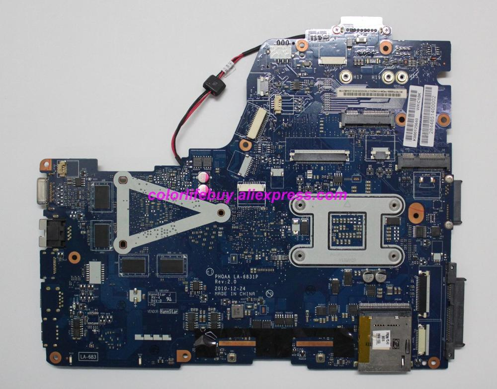 Image 2 - Genuine K000125640 PHQAA LA 6831P w N12P GS A1 GPU Laptop Motherboard Mainboard for Toshiba Satellite P750 P755 Notebook PC-in Laptop Motherboard from Computer & Office