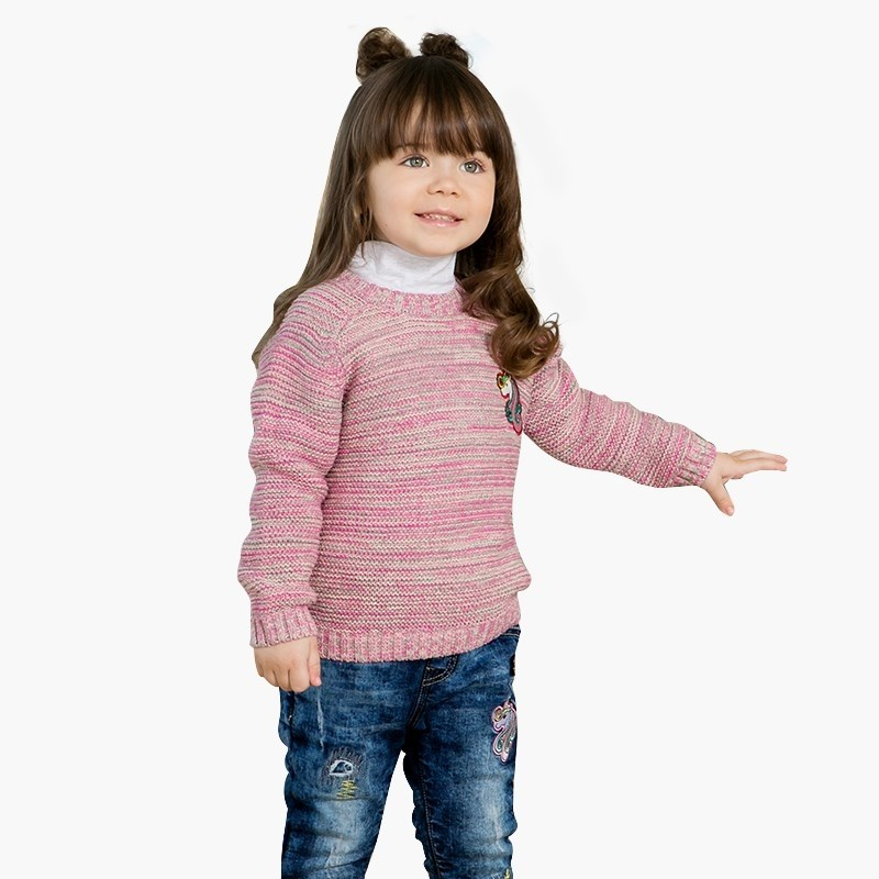 Sweaters Sweet Berry Knitted Sweater for girls children clothing kids clothes 2016 spring new fall and winter clothes children s clothing girls sports suit kids clothes children coat sweater piece