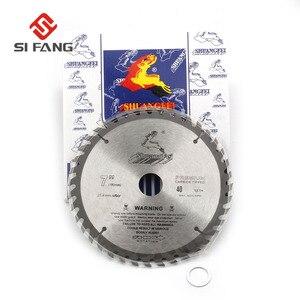Image 3 - SI FANG hoja de sierra Circular de alta calidad, 60 100 dientes, aleación de carburo de 4 12 pulgadas, herramienta rotativa utilizada para cortar madera y Metal de aluminio