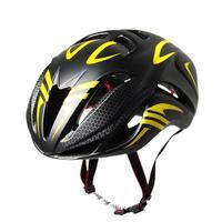 Road Cycling Helmet 2018 Tunnel Helmet Black And Yellow Riding Equipment Helmet Mountain Bike Ultra Light Men's Special Helmet