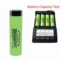 9/10/11pcs 3.7V 18650 3400mah For Panasonic NCR18650B 3.6V Rechargeable battery brand cell for Toy Torch Flashlight Power Bank