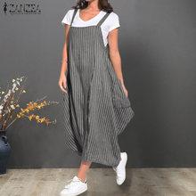 416725ff224f4 Popular Maxi Dress Cotton Stripe Zanzea-Buy Cheap Maxi Dress Cotton ...