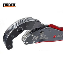 FINDER 9-45mm Hook Type Double End Magic Adjustable Wrench Multi Functional Spanner Tools Bionic Universal Household Hand Tool