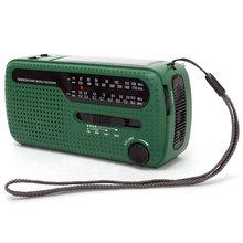 De13 портативное fm am радио солнечное аварийное мировой приемник