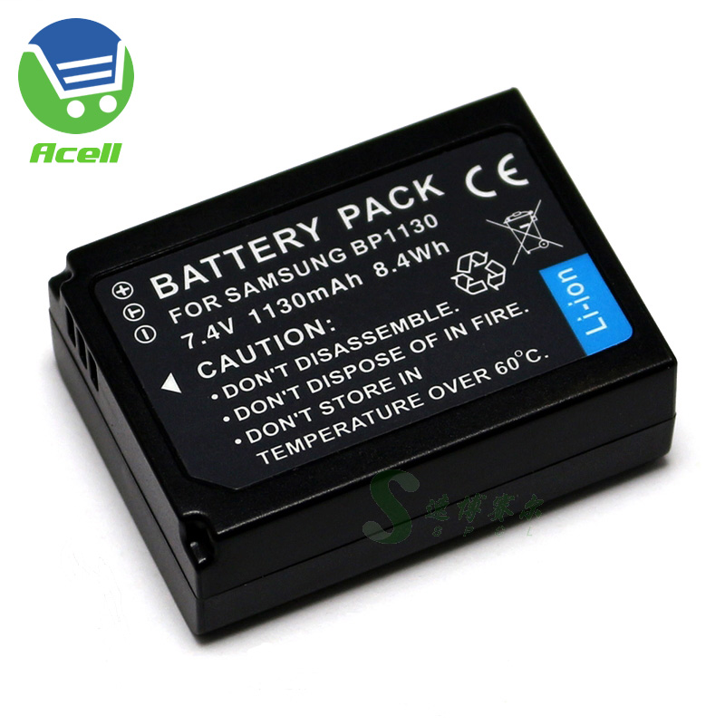 BP1130 BP1030 <font><b>Battery</b></font> for <font><b>SAMSUNG</b></font> NX500 NX1000 <font><b>NX1100</b></font> NX2000 NX200 NX210 NX300 NX300M Camera image