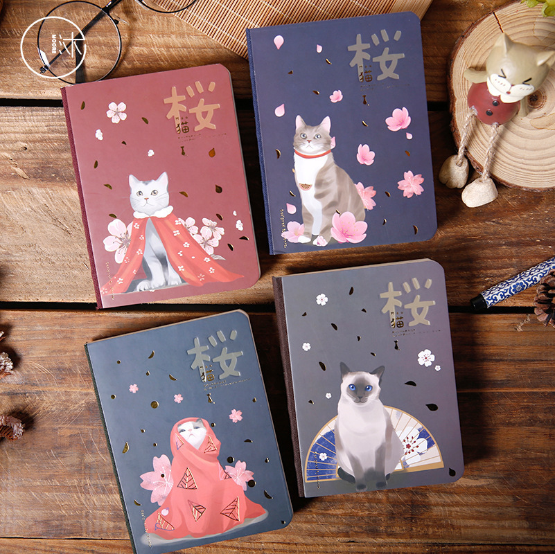 Multifunctional Cat Notebook For Drawing Painting Graffiti  SketchBook Memo Pad  Office School Supplies Gift 224pages