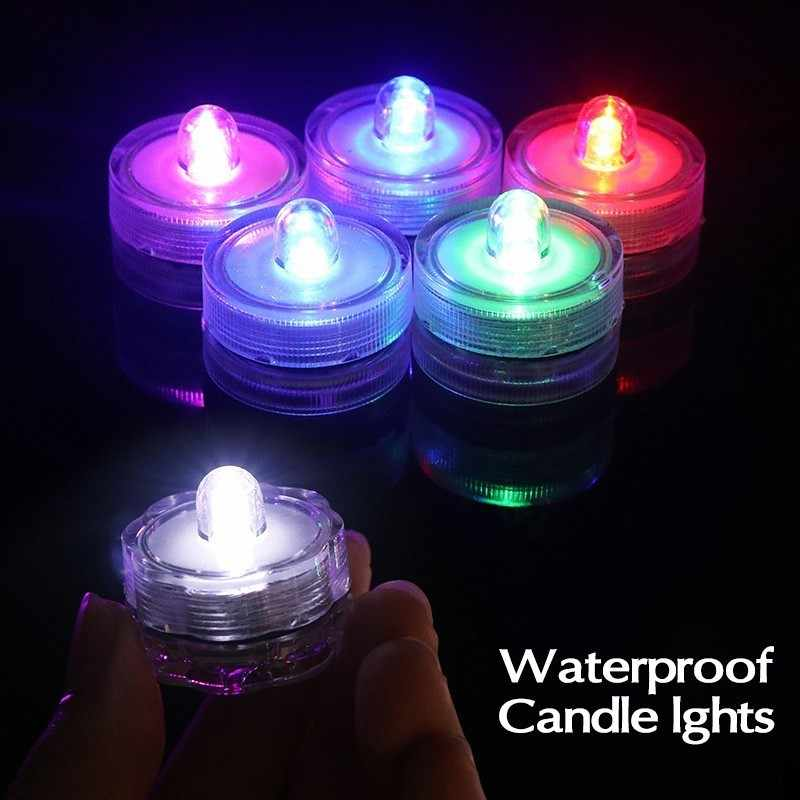 Lamp Waterproof Aquarium Bar Wedding Evening Light Candle Led Party For Children Battery Night Fish Tank Diving Kids ikwuTOPZX