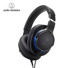 Audio-Technica ATH-MSR7b через наушники-вкладыши гарнитура Музыка Наушники Hi-Fi закрытые динамический профессиональный наушники с микрофоном