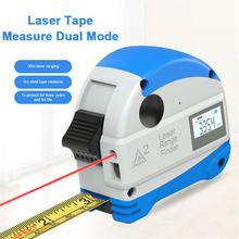 30M Infrared Steel Tape Measure Intelligent Tapeline Laser Rangefinder Digital Electronic Infrared High Precision Range Finder цена в Москве и Питере