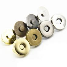 50PCS Snap Button High Quality Seam Snap Magnetic Button Rivet Magnetic  Luggage  Leather Bag Snap Button color matching striped snap button up jacket