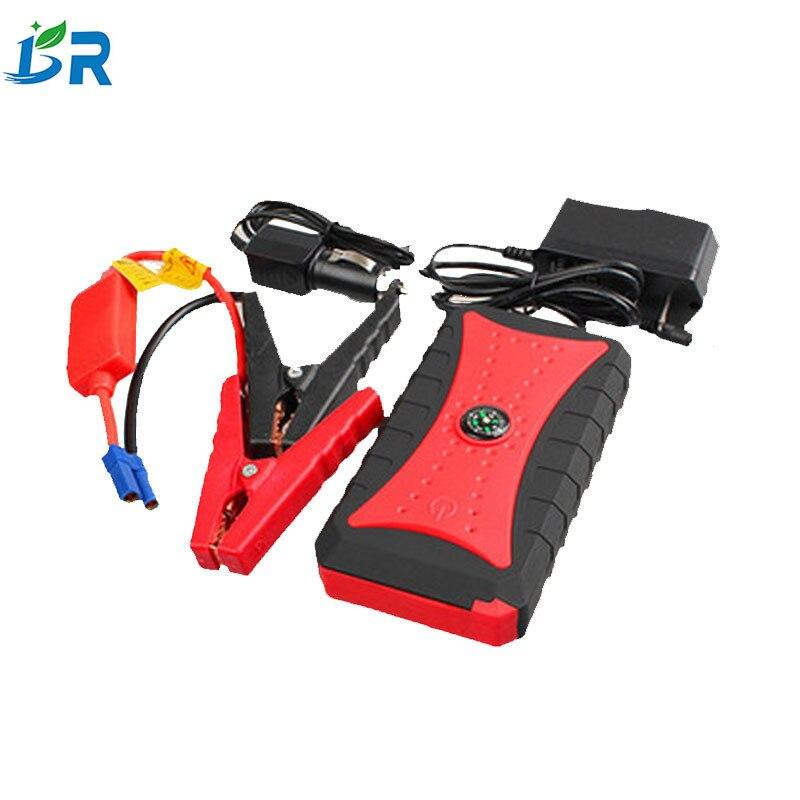 Dispositif de démarrage multifonctionnel de batterie de voiture de secours de démarreur automatique de saut de 12 V pour le démarreur de voiture