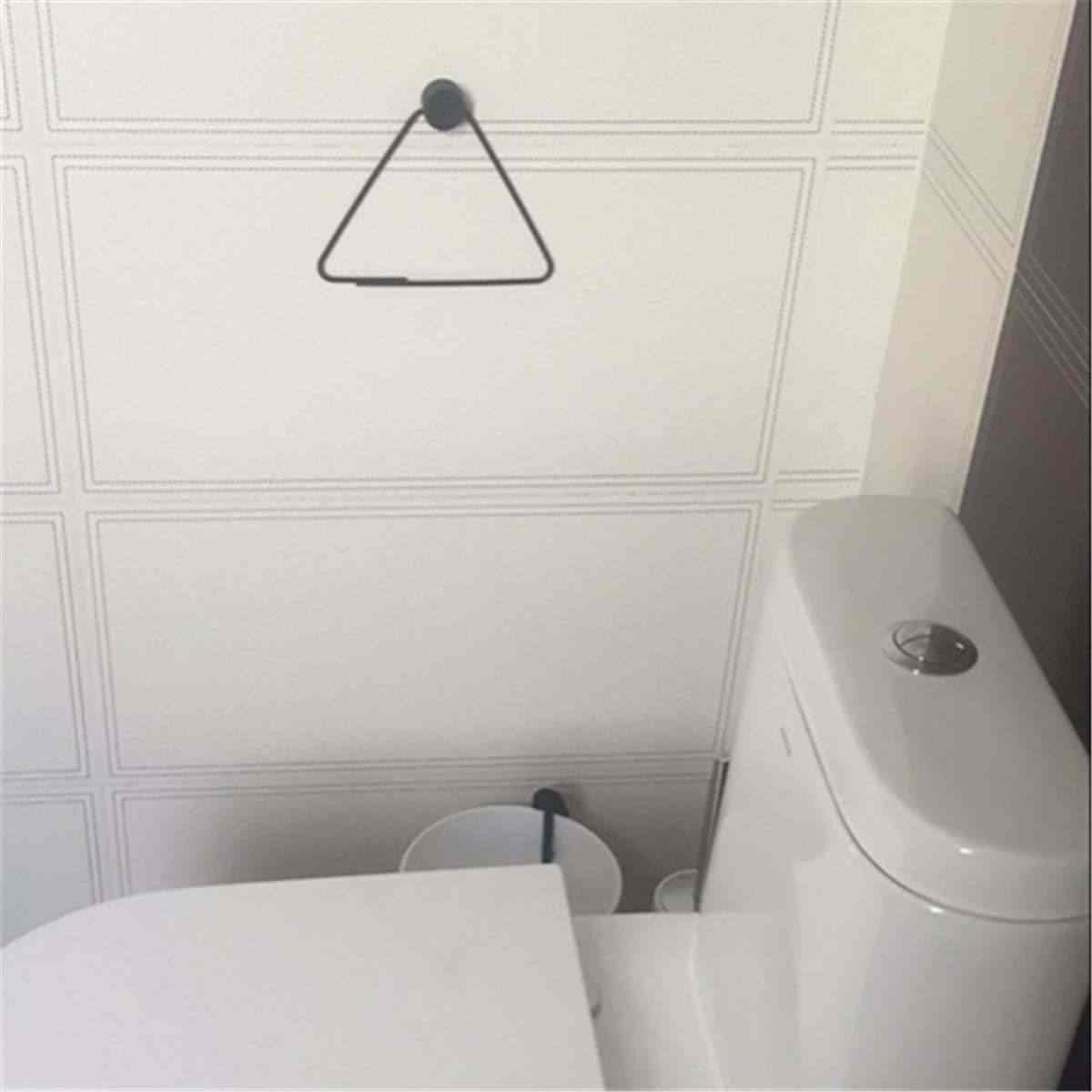 Rangement De Papier Toilette salle de bain tenture murale décoration rangement rack homeware rétro  papier serviette anneau toilette étagère papier toilette créatifs rouleau