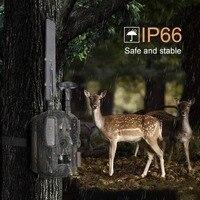 Дикой природы камера для слежения на охоте 4 г gps FTP электронной почты ночное видение Охота ловушки для фотоаппаратов GSM MMS дикий камера Chasse де