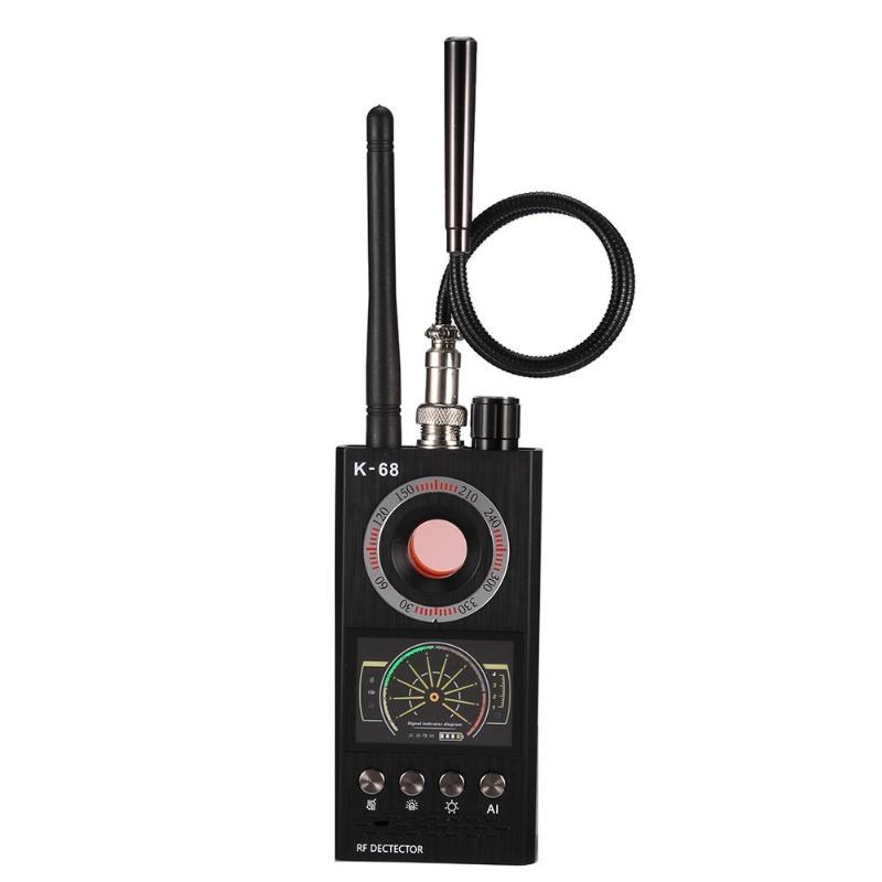 New K68 Wireless Signal Detector RF Bug Finder Anti Eavesdroped Detector Anti Candid Camera GPS Tracker Locator Dropshipping
