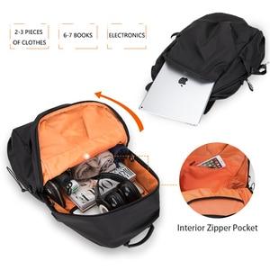 Image 5 - Plecak podróżny Hk plecak Oxford męski materiał Escolar Mochila marka jakości torba na laptopa czarna spersonalizowana moda torba