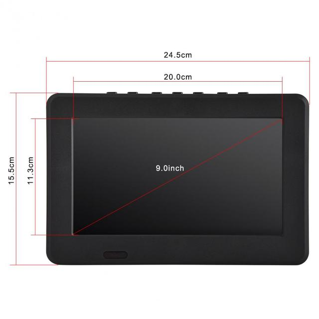 7 inch Portable and Rechargeable Digital Colour  Television