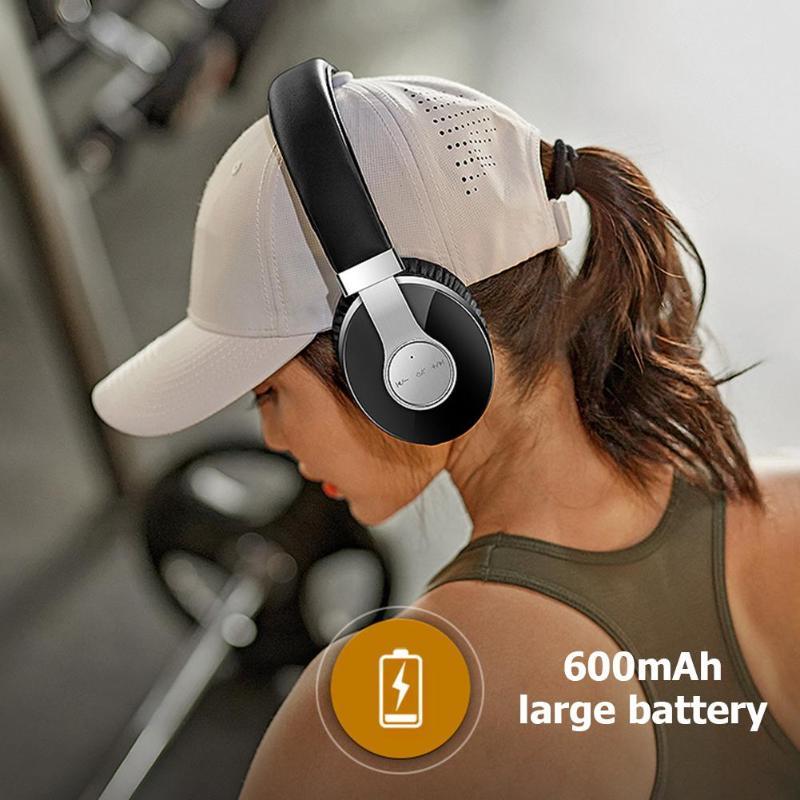 T9 CSR casque sans fil Bluetooth stéréo HiFi MP3 Bluetooth V4.2 Sport casque sans fil avec Microphone pour téléphone intelligent - 5