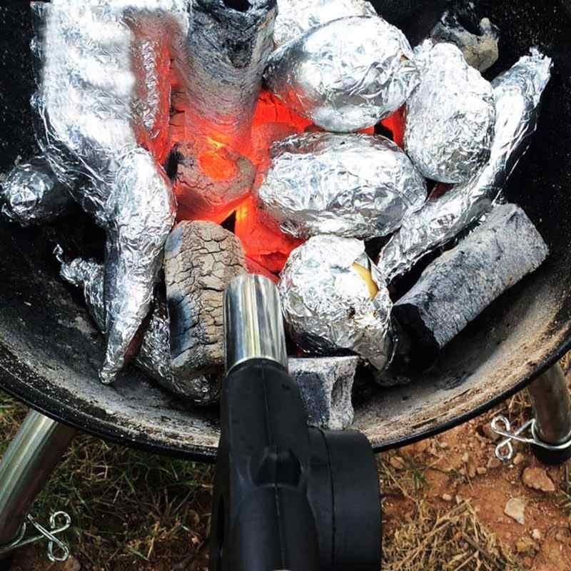Ручной вентилятор для барбекю, воздуходувка из нержавеющей стали, вентилятор для барбекю, воздуходувка для наружного барбекю, пожарный, для пикника, кемпинга, кухонные инструменты