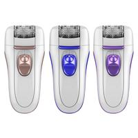 3 In 1 Women Epilator Electric Facial Hair Remover Leg Trimmer Hair Removal Razor Lady Bikini Female Body Shaving Machine