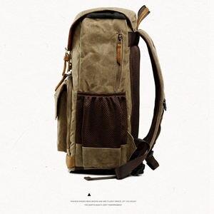 Image 2 - Batik toile appareil photo sac à dos extérieur sac étanche multi fonctionnel photographie sac pour Canon pour la plupart des sac reflex numérique