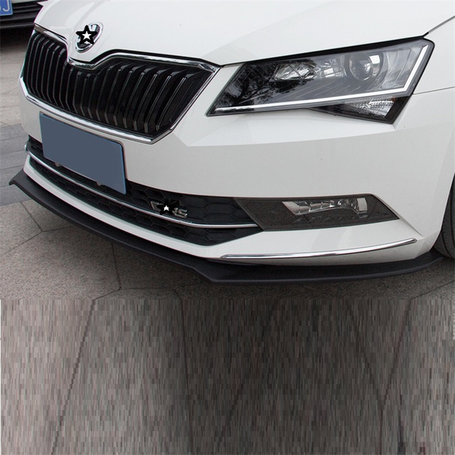Modification Sticker Bumper Protector Auto Style Car-styling Guard Car Anticollision Adhesive 16 17 18 FOR Skoda Superb