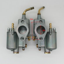 High Performance 1 pair Left &Right 28mm Carb Pair Vergaser Carburetor Carb y fit for K302 BMW M72 MT URAL K750 MW Dnepr