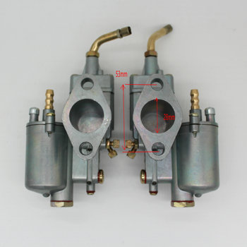 High Performance 1 pair Left &Right 28mm Carb Pair Vergaser Carburetor Carb y fit for K302 BMW M72 MT URAL K750 MW Dnepr