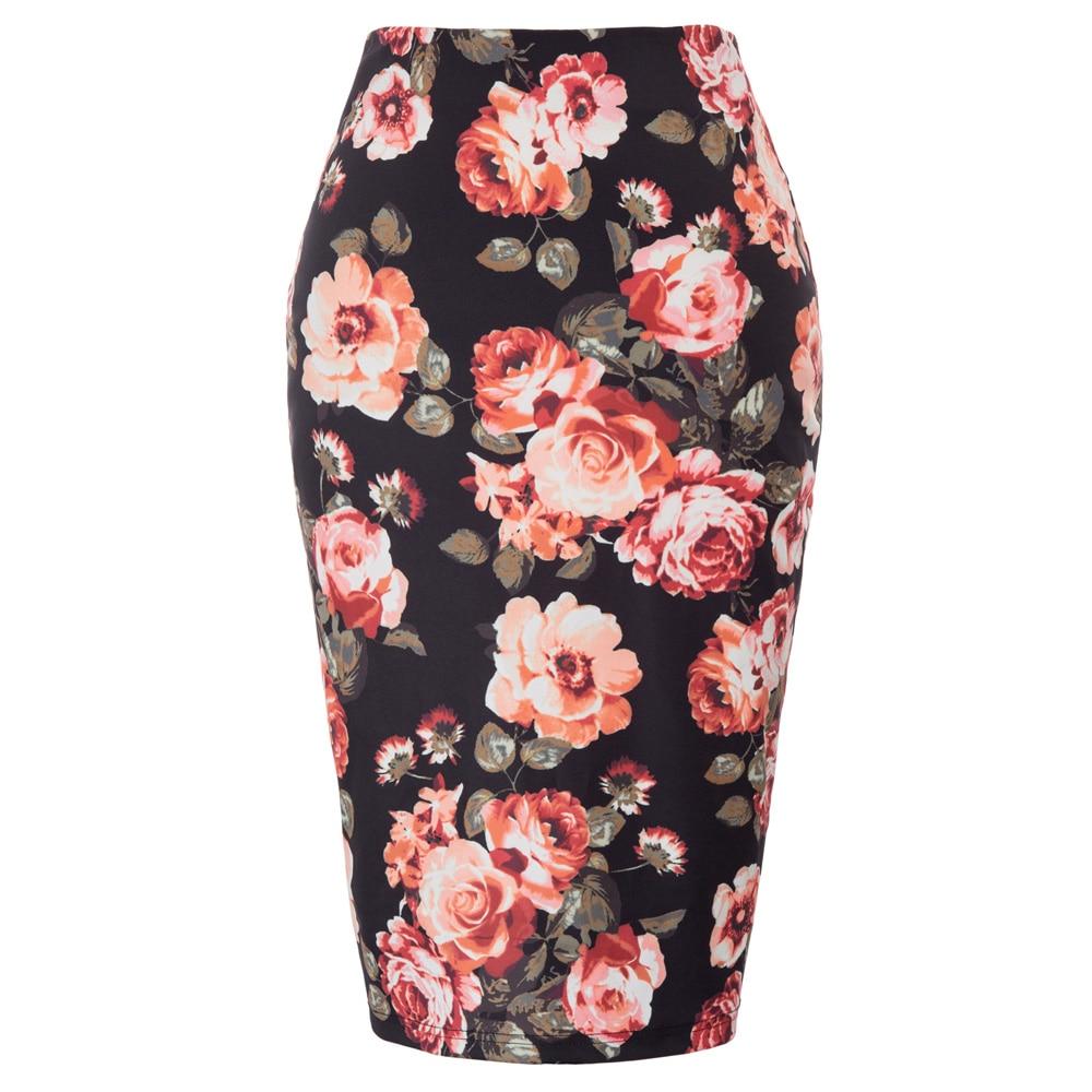 Sexy High Waist Denim Skirts Blue Bodycon Pencil Skirt Women Plus Size Summer Skirt Long Denim Skirt Women Saia Midi Юбка