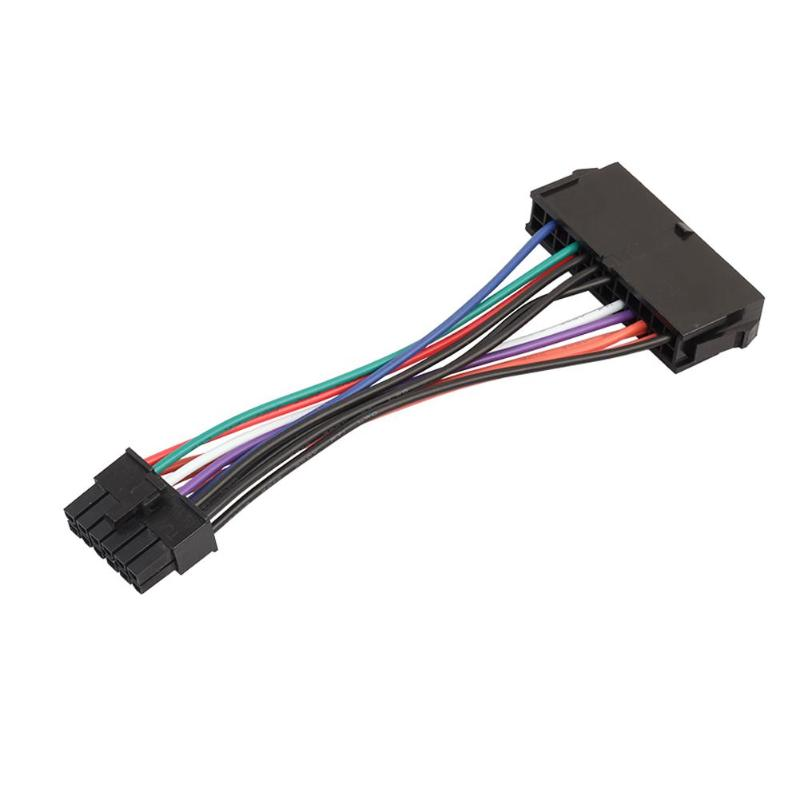24Pin to 12Pin PSU Main Power Supply ATX Adapter Lead for Acer Q87H3-AM