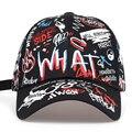2019 new Fashion Graffiti printing Baseball Cap Outdoor cotton Shade Hat men women Summer Caps adjustable Leisure hats