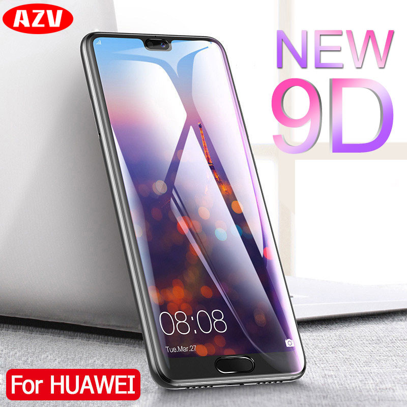 AZV 9D Full Cover Tempered Glass For Huawei P20 Lite P20 Pro Screen Protector For Huawei P20 Lite Nova 3E Protective Glass FilmAZV 9D Full Cover Tempered Glass For Huawei P20 Lite P20 Pro Screen Protector For Huawei P20 Lite Nova 3E Protective Glass Film