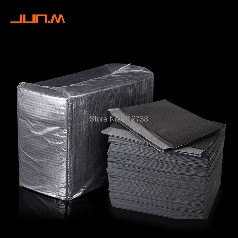 Newest 25Pcs Disposable Tattoo Clean Pad Waterproof Medical Paper Tablecloths Mat Double Layer Sheets Tattoo Accessories 45*33cm-in Tattoo accesories from Beauty & Health