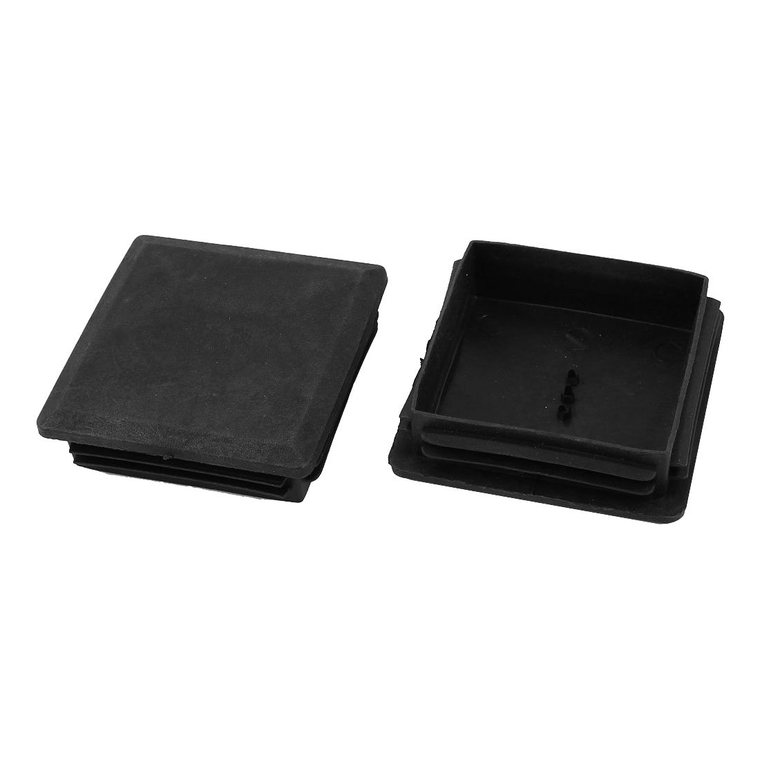 Promotion! 80mm X 80mm Square Plastic Caps Pipe Tube Inserts End Plug 2 Pieces