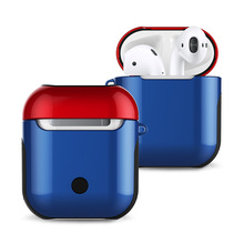 Case For Airpods  Silicone Cover Protective Cases Airpod Air Pods Wireless Charge hard cover wholesale