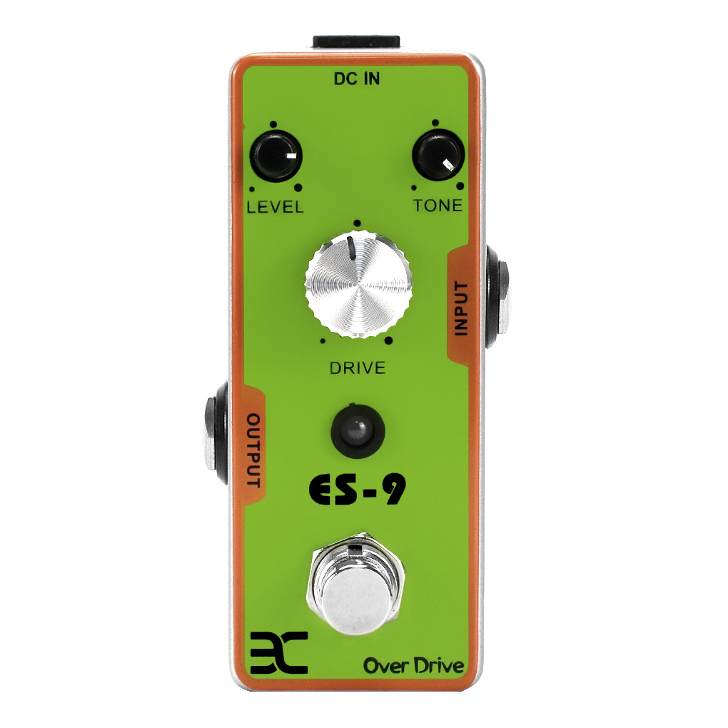 eno EX Classic Overdrive Pedal Guitar Effect Pedal True Bypass Design Small Guitar Accessories image