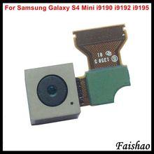 купить FaiShao New 10pcs/lot For Samsung Galaxy S4 mini i9190 i9192 i9195 Big Main Back Rear Camera Module with Flex Cable Replacement по цене 1067.5 рублей