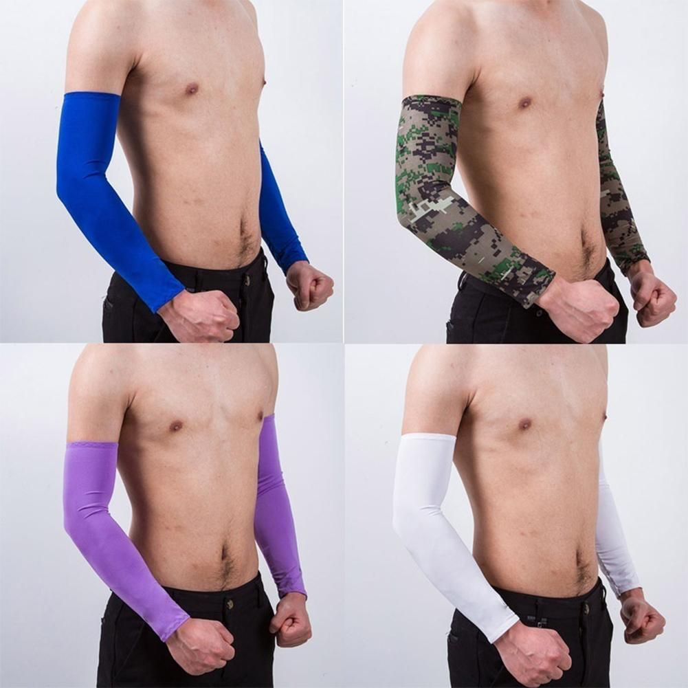 Sport Protector Sunscreen Cycling Sleeves Anti-UV Ice Silk Sleeve Summer Wear Outdoor Accessories